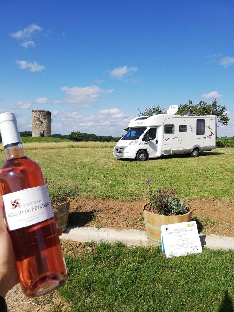 Accueillant CCH camping-car à Libourne - Gironde (33)
